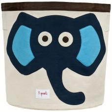 Корзина для игрушек «Синий Слонёнок»