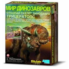 4M Занимательная археология Скелет Трицератопса 00-03228