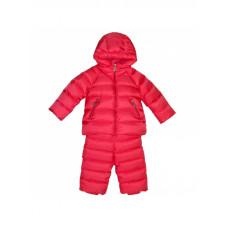 Детский зимний полукомбинезон и куртка для девочки (Корал)