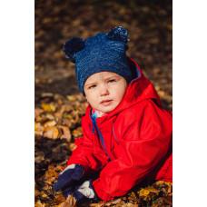 Комбинезон детский непромокаемый, без подкладки (Красный)