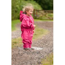 Комбинезон детский непромокаемый, без подкладки (Розовый)