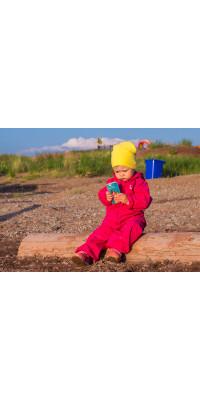 Дождевик для детей Hippychick (Розовый)
