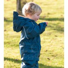 Комбинезон детский непромокаемый с флисом (Василек)