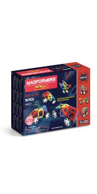 Магнитный конструктор MAGFORMERS Wow set 63094