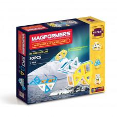 Магнитный конструктор MAGFORMERS Ice World 63136