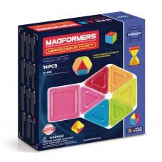 Магнитный конструктор MAGFORMERS Window Solid 14 set 714005