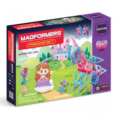Магнитный конструктор Magformers Princess Set 63134