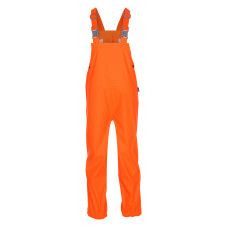 Прорезиненный высокий комбинезон Zareb Shock (Оранжевый)
