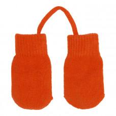 Варежки трикотажные Villervalla (Оранжевые)