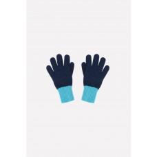 Crockid Перчатки (светлая лагуна, темно-синий)