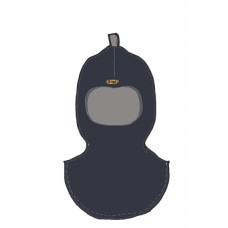 Детский шлем зимний OTTO (Перо вороны)